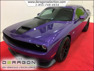 Dodge Challenger SRT + 392 HEMI + *485HP* + NAV + CAMERA + TOIT 2016