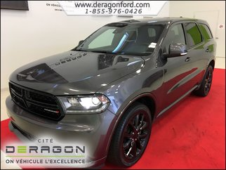 2017 Dodge Durango R/T INT. ROUGE - TECH PACK - TOIT - MAGS 20P - NAV