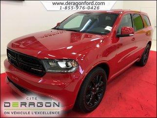 2017 Dodge Durango R/T AWD V8 HEMI CUIR BLACKTOP TOIT OUVRANT MAGS20P