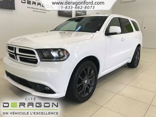 2017 Dodge Durango R/T TECH PACK CUIR ROUGE 7 PLACES NAV CAMERA TOIT