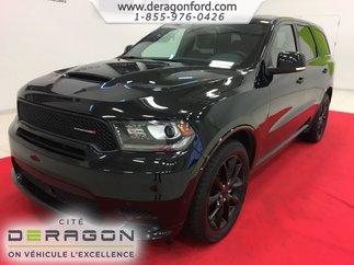 Dodge Durango R/T AWD CUIR ROUGE TOIT NAV TECH PACK BLACKTOP 20P 2018