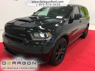 2018 Dodge Durango R/T AWD CUIR ROUGE TOIT NAV TECH PACK BLACKTOP 20P