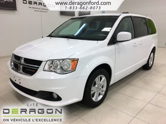 Dodge Grand Caravan CREW PLUS + CUIR + CAMERA + PORTE ELECTRIQUE 2018