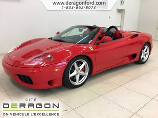 2004 Ferrari 360 Spider F1 CAPRISCO EXHAUST SYSTEM