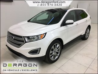Ford Edge TITANIUM + PARK ASSIST + CAMERA AVANT + TOIT + GPS 2015