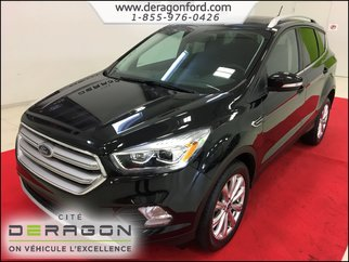 Ford Escape TITANIUM AWD NAVIGATION - CAMERA - TOIT PANORAMIQU 2018