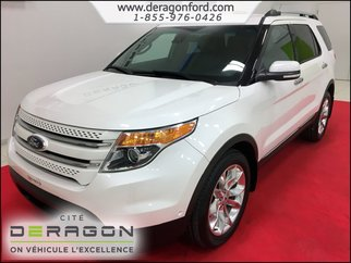 2014 Ford Explorer LIMITED + GPS + TECHNOLOGY PACKAGE + PARK ASSIST