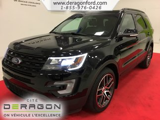 Ford Explorer SPORT AWD ECOBOOST TOIT PANO CUIR NAV CAMERA ++ 2016