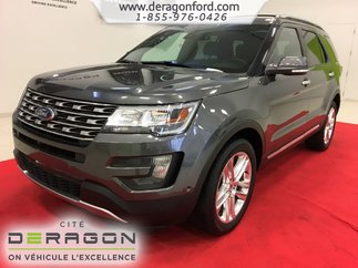 2016 Ford Explorer LIMITED AWD CAMERA TOIT PANO MAGS 20P NAVIGATION
