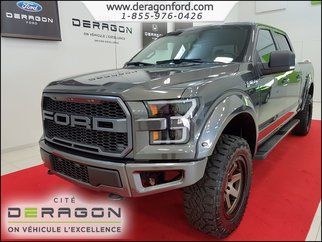 2017 Ford F-150 4X4 XLT SUPERCREW V8 5.0L NAV VERSION TTT