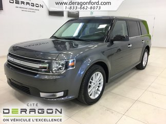 Ford Flex SEL AWD V6 3.5L CUIR TOIT CAMERA 7 PASSAGERS 2018