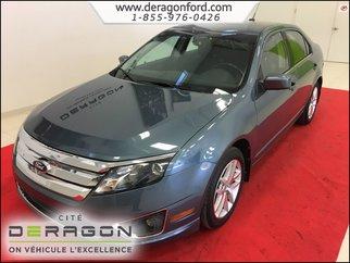Ford Fusion SEL 3.0L V6 SIEGES EN CUIR - SYNC -CAM DE RECUL 2012