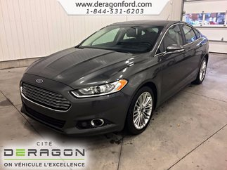 2015 Ford Fusion SE AWD 2L CUIR ENSEMBLE GRAND LUXE MAGS 18P