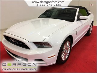 Ford Mustang V6 PREMIUM CONVERTIBLE CUIR AUTOMATIQUE SYNC 2014