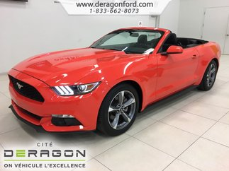 Ford Mustang V6 CONVERTIBLE DEMARREUR CAMERA ROUES 18