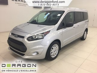 Ford Transit Connect wagon XLT 7 PASSAGERS 2.5L CAMERA FOG AUCUN ACCIDENT 2015