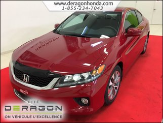 Honda Accord Coupe EX 2.4L MANUELLE + AIR CLIM + BLUETOOTH 2014