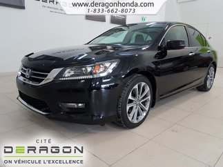 2014 Honda Accord Sedan Sport+DEMARREUR+AIR CLIMATISE+CAMERA DE RECUL+
