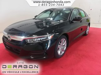 2018 Honda Accord Sedan LX 1.5L TURBO 192 CH + HONDA SENSING + MAGS 17PO
