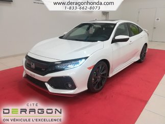 2018 Honda Civic Berline SI-HFP +JUPES LATÉRALES+SUSPENSION SPORT+TURBO!!