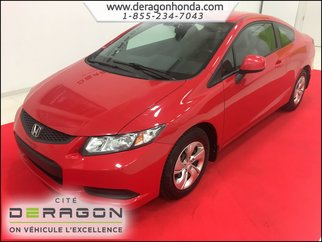 2013 Honda Civic Coupe LX+SIÈGES CHAUFFANTS+BLUETOOTH+A/C+CRUISE CONTROL