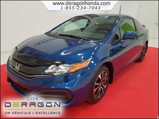 2014 Honda Civic Coupe EX+24950KM+VITRES TEINTÉES+AILERON+CAMÉRA DE RECUL