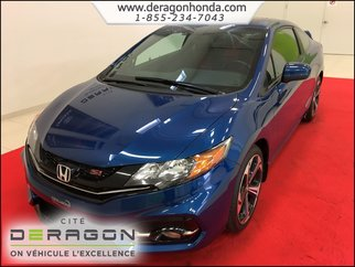 2015 Honda Civic Coupe SI 2.4L + AILERON + CAMÉRA DE RECUL + A/C