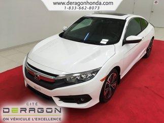 Honda Civic Coupe EX-T+DÉMARREUR+TURBO~TOIT OUVRANT 2016