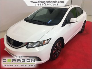 2013 Honda Civic Sedan EX 1.8L + SIEGES CHAUFFANTS + CAMERA DE RECUL