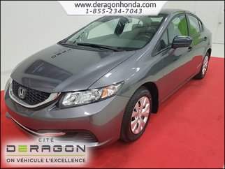 2014 Honda Civic Sedan DX 1.8L MANUELLE + BIEN ENTRETENUE