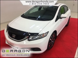 2014 Honda Civic Sedan EX 1.8L + TOIT OUVRANT + AIR CLIM + CAMERA RECUL