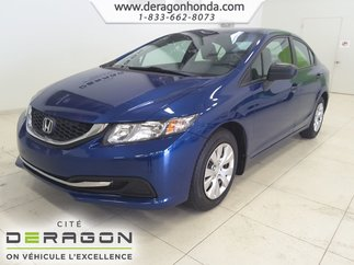2014 Honda Civic Sedan DX+LECTEUR CD+VITRES ELECTRIQUES+ODINATEUR DE BORD
