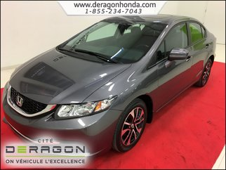 2015 Honda Civic Sedan EX 1.8L + MAGS + TOIT OUVRANT + BLUETOOTH