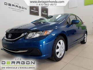 Honda Civic Sedan EX+TOIT OUVRANT+SIEGES CHAUFFANTS+CAMERA DE RECUL 2015
