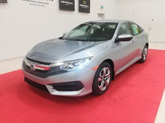 Honda Civic Sedan LX 2.0L 158 CH + APPLE CARPLAY + ANDROID AUTO 2018