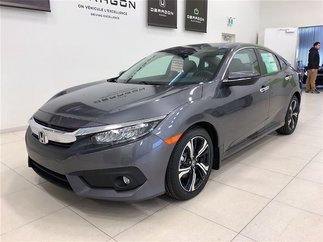 2018 Honda Civic Sedan TOURING 1.5L TURBO 174 CH + HONDA SENSING