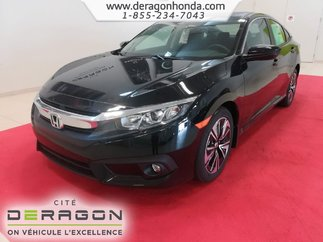 2018 Honda Civic Sedan EX-T 1.5L TURBO 174CH + ROUES 17PO