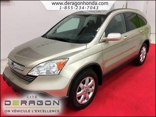 Honda CR-V EX-L + TOIT OUVRANT + INTÉRIEUR EN CUIR + A/C 2008