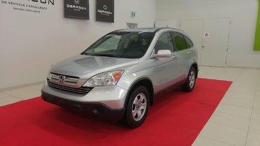 2009 Honda CR-V EX-L 4WD + ATTELAGE REMORQUE + INTÉRIEUR EN CUIR