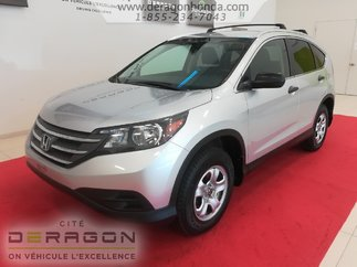 Honda CR-V LX + UN SEUL PROPRIETAIRE + BIEN ENTRETENU 2013