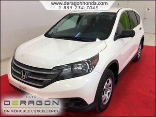 Honda CR-V LX 2.4L 4 ROUES MOTRICES + CAMERA DE RECUL 2014