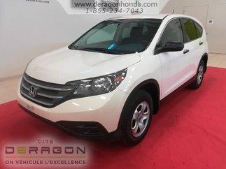Honda CR-V LX  2RM + UN SEUL PROPRIETAIRE + BIEN ENTRETENU 2014