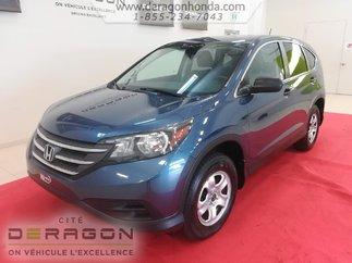 Honda CR-V LX  4RM + AUCUN ACCIDENT + GARANTIE PROLONGEE 2014