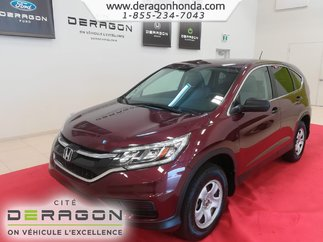 2015 Honda CR-V LX + BAS KILOMETRAGE + 4 ROUES MOTRICES