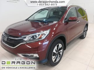 hot sales 28b00 11ab7 2015 Honda CR-V TOURING+CUIR+TOIT OUVRANT+DEMARREUR+SIEGES ELEC