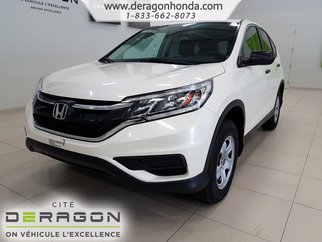 2016 Honda CR-V LX+GARANTIE+SIEGES CHAUFFANTS+CAMERA DE RECUL