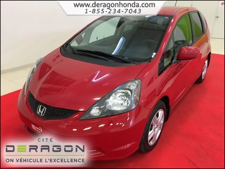 2013 Honda Fit LX + BAS KILO + AIR CLIMATISE + BLUETOOTH