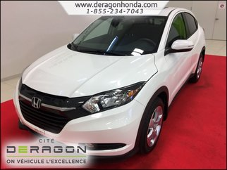2016 Honda HR-V EX 1.8L + CAMERA DE RECUL + CRUISE CONTROL
