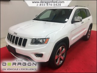 2015 Jeep Grand Cherokee LIMITED-AWD-CUIR-TOIT OUVRANT-MAGS
