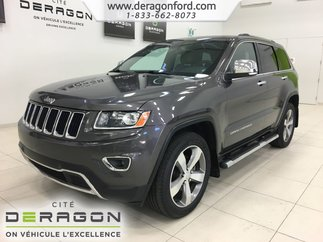 2015 Jeep Grand Cherokee LIMITED 4X4 DEMARREUR NAV CAMERA TOIT ROUES 20